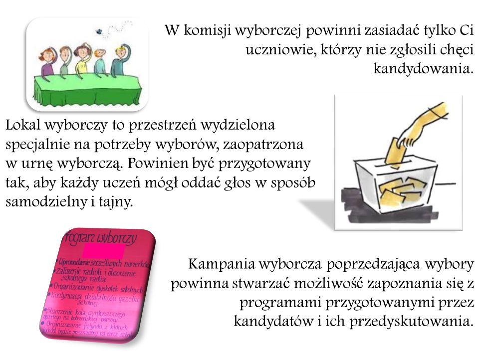 Rolą władz samorządu uczniowskiego jest reprezentowanie ogółu uczniów i współpraca z nimi.