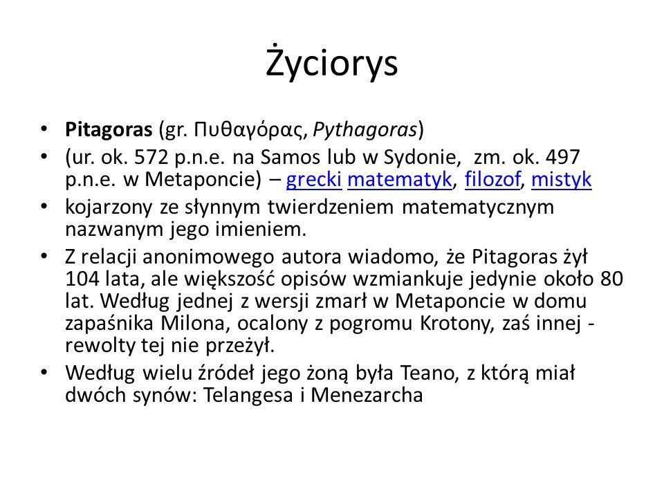 - rzeźba muzeum na Kapitolu Pitagoras – wielki matematyk