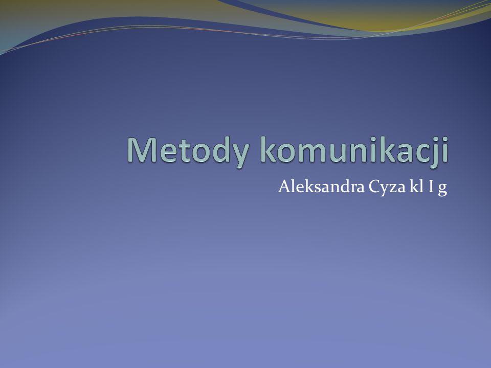 Aleksandra Cyza kl I g