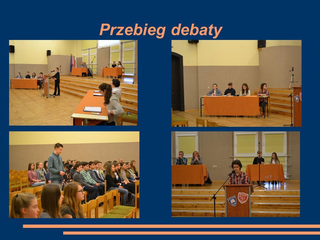 Przebieg debaty