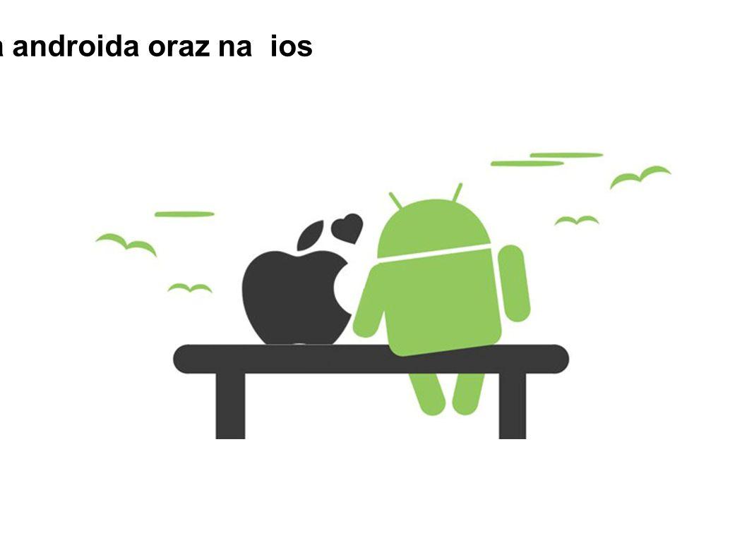 Aplikacja dostępna na androida oraz na ios