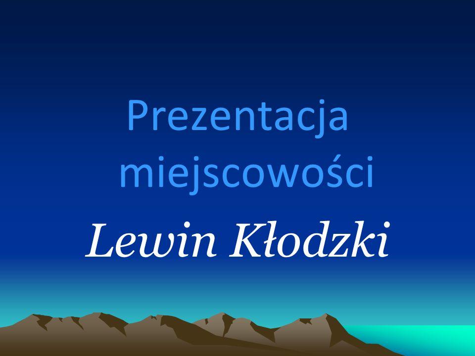 Prezentacja miejscowości Lewin Kłodzki