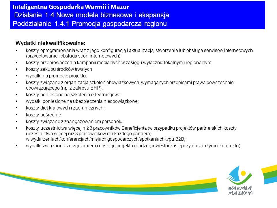 Oś Priorytetowa 4 Efektywność energetyczna Działanie 4.3 Kompleksowa modernizacja energetyczna budynków Poddziałanie 4.3.1 Efektywność energetyczna w budynkach publicznych Poddziałanie 4.3.2 Efektywność energetyczna w budynkach mieszkalnych Działanie 4.4 Zrównoważony transport miejski Poddziałanie 4.4.1 Ekomobilny MOF (ZIT Olsztyna) Poddziałanie 4.4.2 Poprawa mobilności miejskiej w miejskim obszarze funkcjonalnym Elbląga – ZIT bis Poddziałanie 4.4.3 Poprawa mobilności miejskiej w miejskim obszarze funkcjonalnym Ełku – ZIT bis Poddziałanie 4.4.4 Infrastruktura transportu publicznego (Niskoemisyjny transport miejski) Działanie 4.5 Wysokosprawne wytwarzanie energii