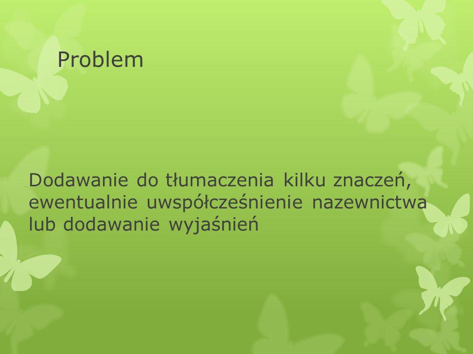 Problem MRF 621.3.016.34 Overload.Overload capacity Pełne wydanie polskie (FID 327) Przeciążenie.