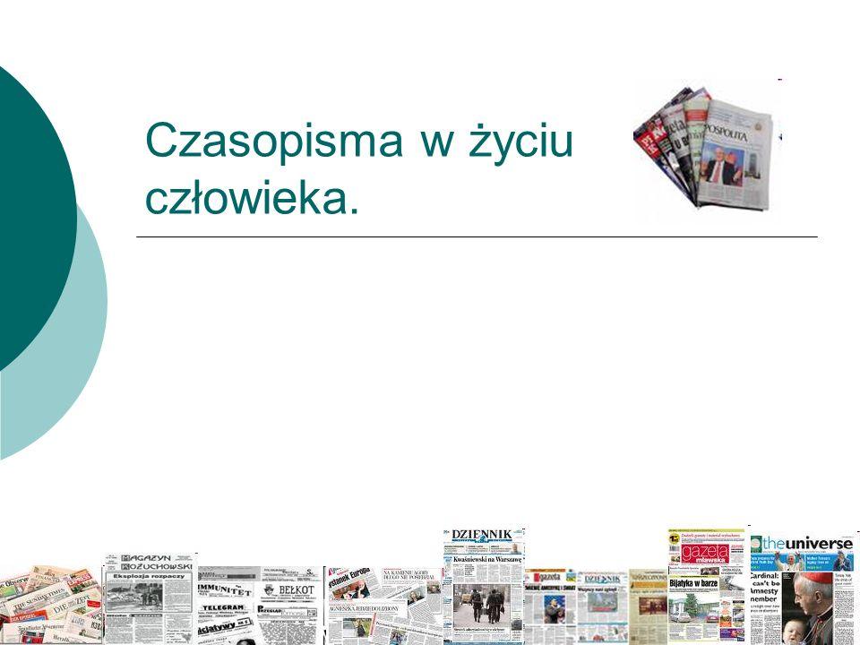 Historia pierwszego czasopisma Monitor - to pierwsze czasopismo, regularnie wydawane w Polsce w latach 1765 - 1785.