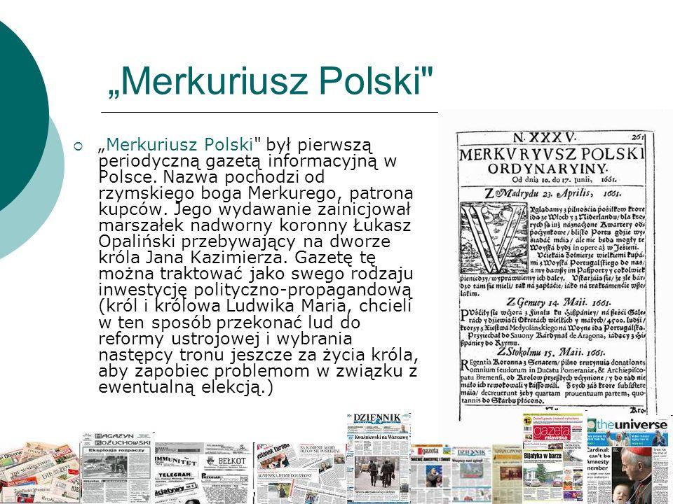 """Merkuriusz Polski"