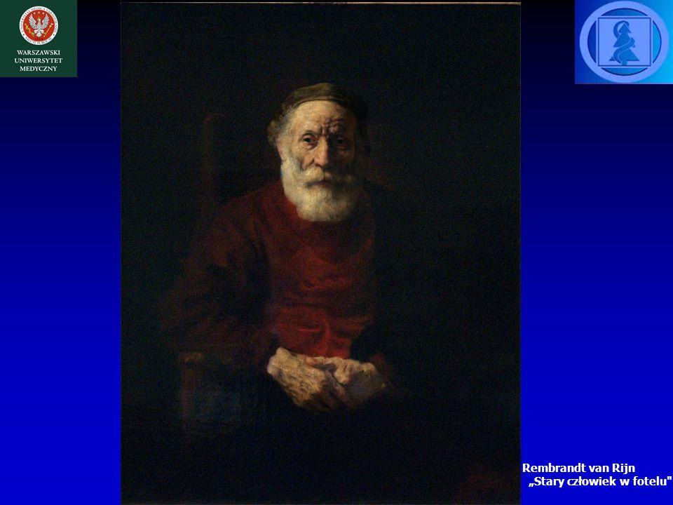 """Rembrandt van Rijn """"Stary człowiek w fotelu"""