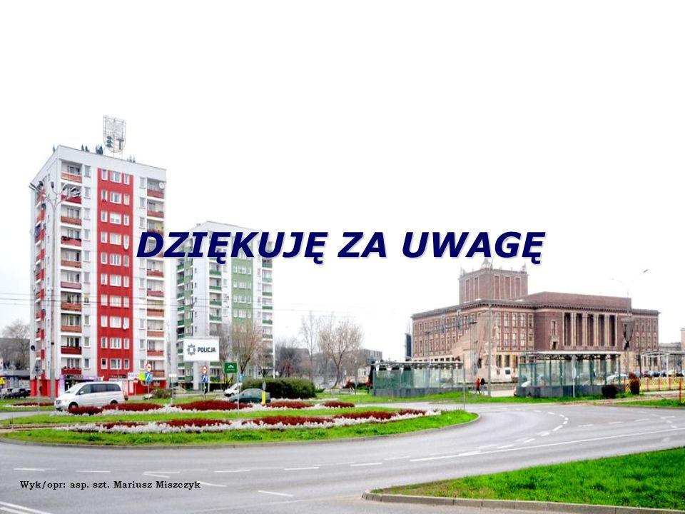 DZIĘKUJĘ ZA UWAGĘ Wyk/opr: asp. szt. Mariusz Miszczyk