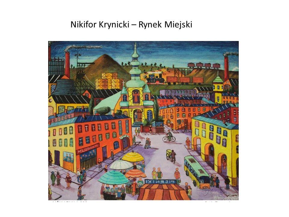 Nikifor Krynicki – Rynek Miejski