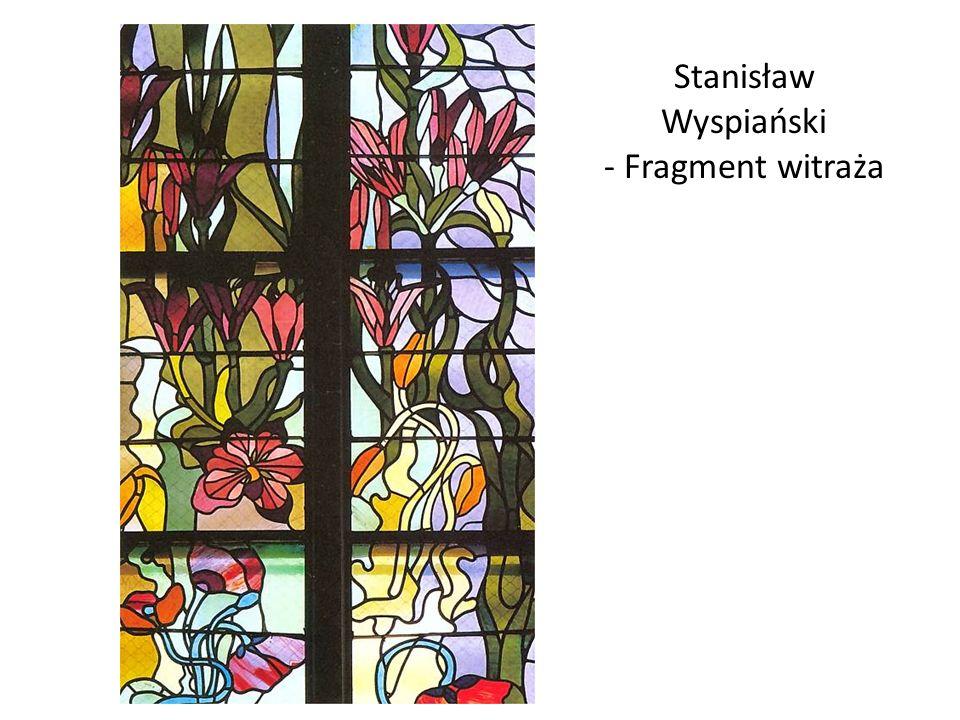 Stanisław Wyspiański - Fragment witraża