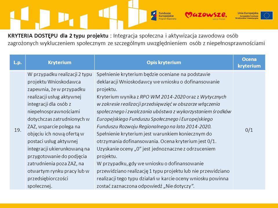 L.p.KryteriumOpis kryterium Ocena kryterium 19.