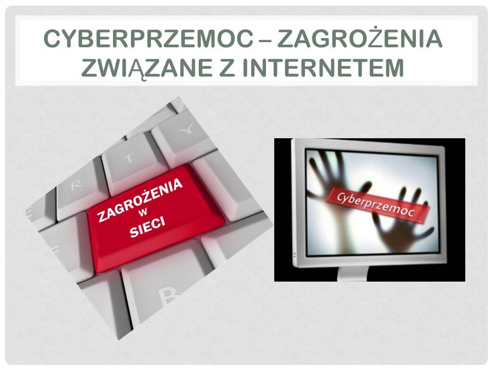 CYBERPRZEMOC – ZAGRO Ż ENIA ZWI Ą ZANE Z INTERNETEM