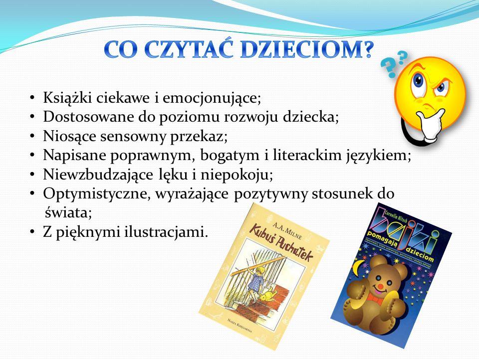 Na rozpoczęcie przygody z książką polecane są książki z tekturowymi lub plastikowymi kartkami lub tzw.