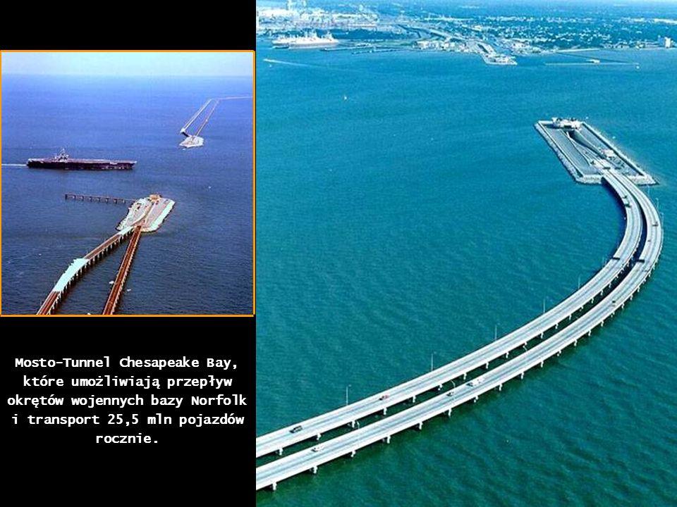 Most drogowy pomiędzy Chinami i Hong Kongiem z płynną zmianą ruchu prawostronnego na lewostronny obowiązujący na wyspie.