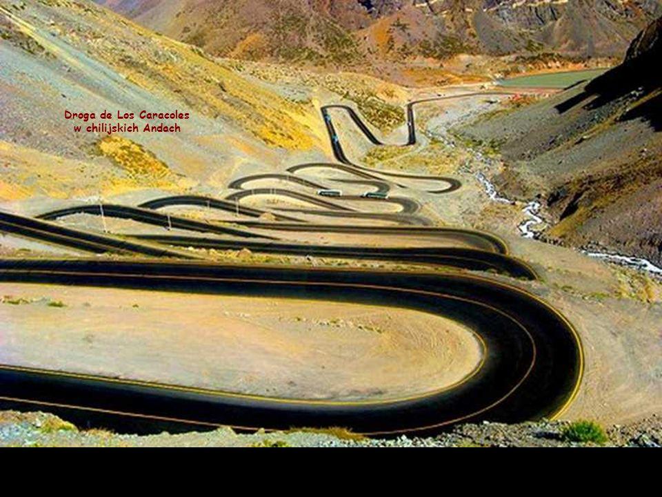 Droga de Los Caracoles w chilijskich Andach