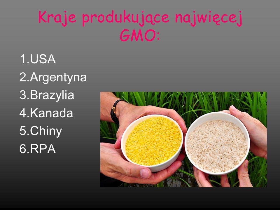 Produkcja GMO