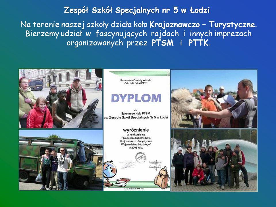 Zespół Szkół Specjalnych nr 5 w Łodzi W naszej szkole uczniowie języka angielskiego uczą się języka angielskiego.