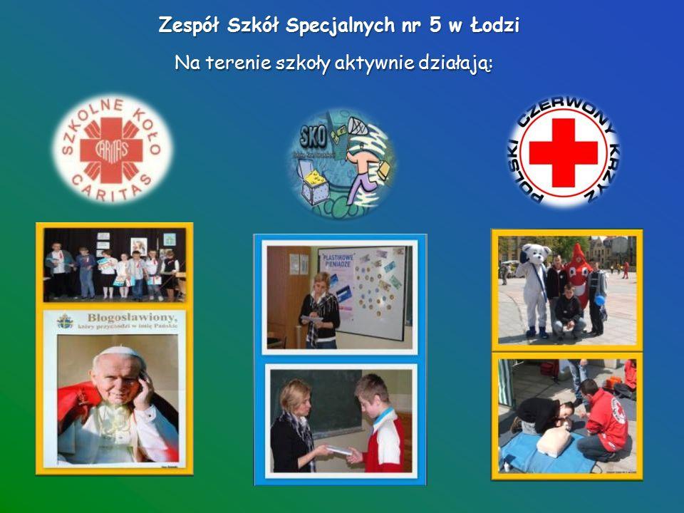 Zespół Szkół Specjalnych nr 5 w Łodzi Corocznie realizujemy wiele ciekawych projektów...