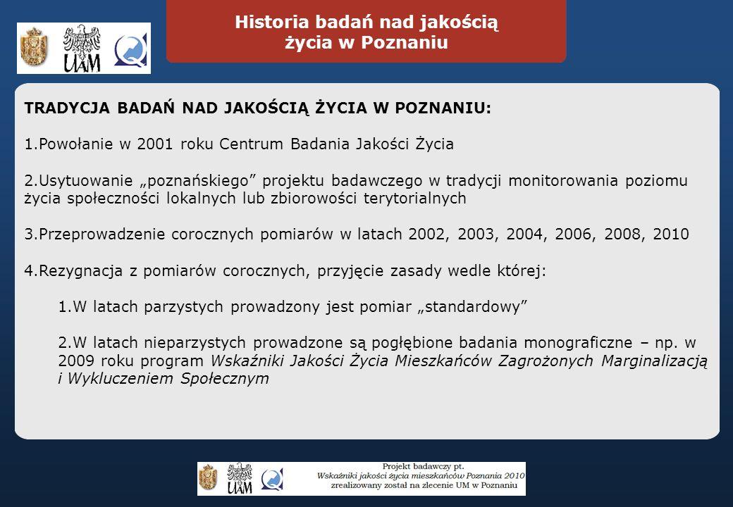 Ocena poziomu hałasu w Poznaniu Ocena czystości w Poznaniu Jak Pan(i) ocenia poziom hałasu w Poznaniu w odniesieniu do następujących miejsc: Wyniki badań 2010 Średnia Oceny pozytywne Oceny negatywne 1.