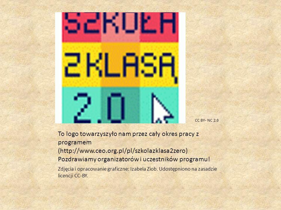 To logo towarzyszyło nam przez cały okres pracy z programem (http://www.ceo.org.pl/pl/szkolazklasa2zero) Pozdrawiamy organizatorów i uczestników programu.