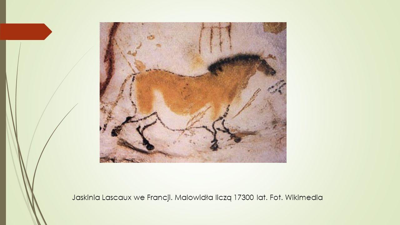 Jaskinia Lascaux we Francji. Malowidła liczą 17300 lat. Fot. Wikimedia