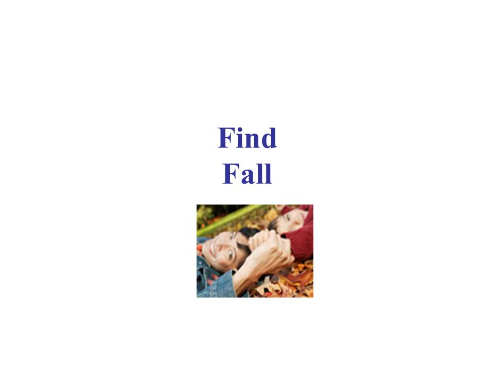 Find Fall