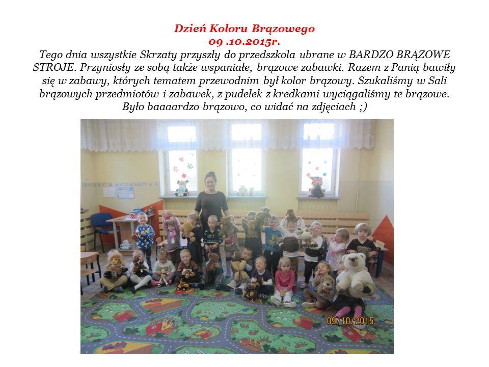 Dzień Koloru Brązowego 09.10.2015r.