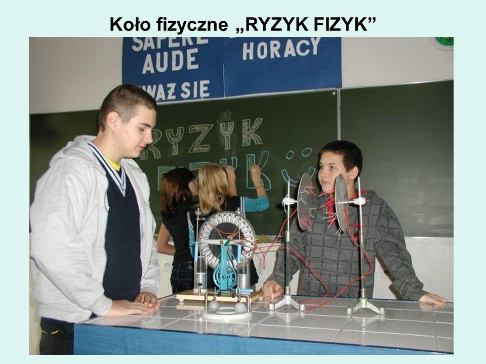 """Koło fizyczne """"RYZYK FIZYK"""