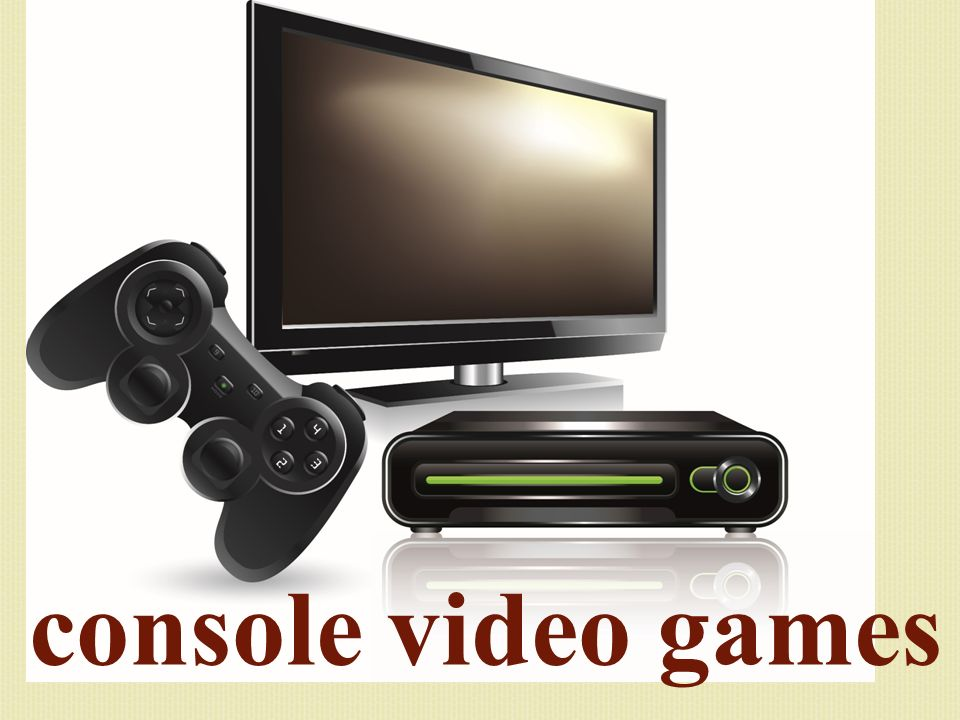 console video games