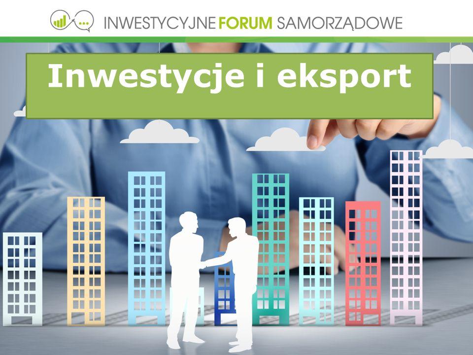 Inwestycje i eksport