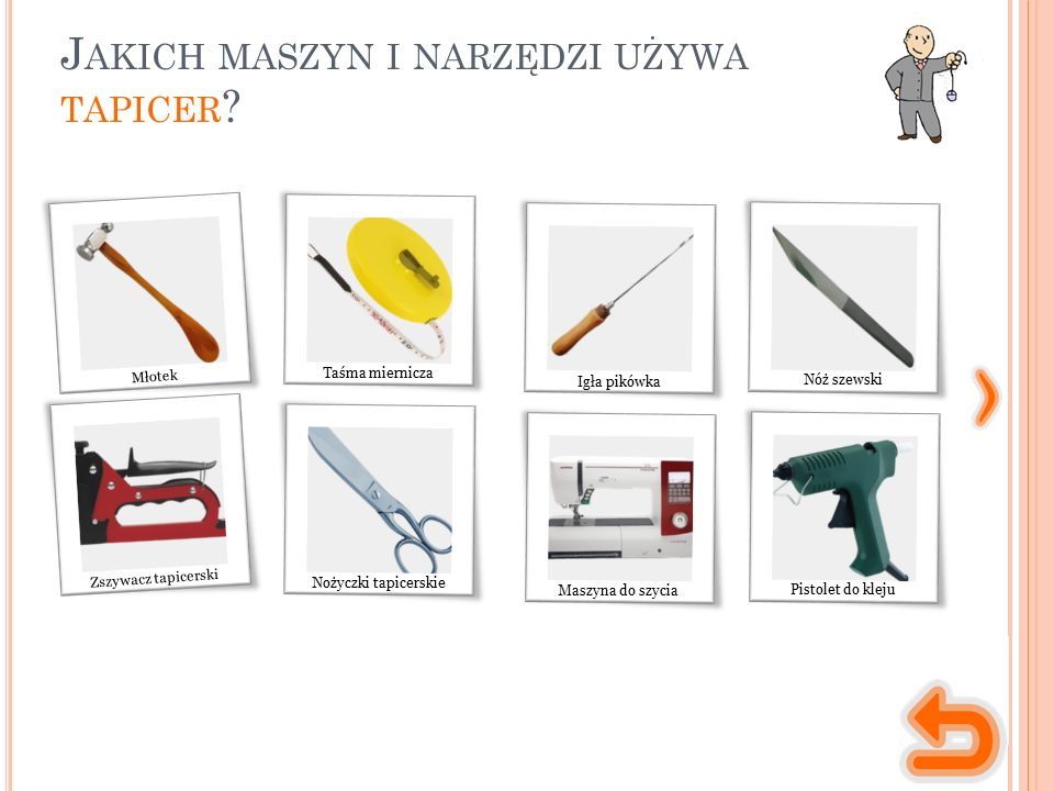 M ASZYNY, NARZĘDZIA, MATERIAŁY narzędzie służące do uderzania w inne narzędzie (np.