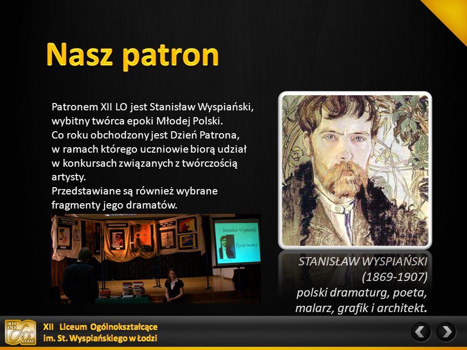STANISŁAW WYSPIAŃSKI (1869-1907) polski dramaturg, poeta, malarz, grafik i architekt.