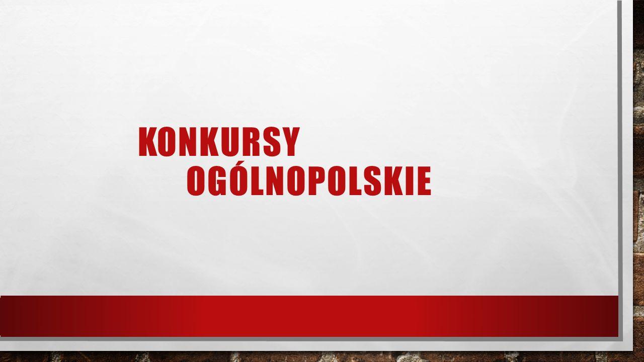 KONKURSY OGÓLNOPOLSKIE
