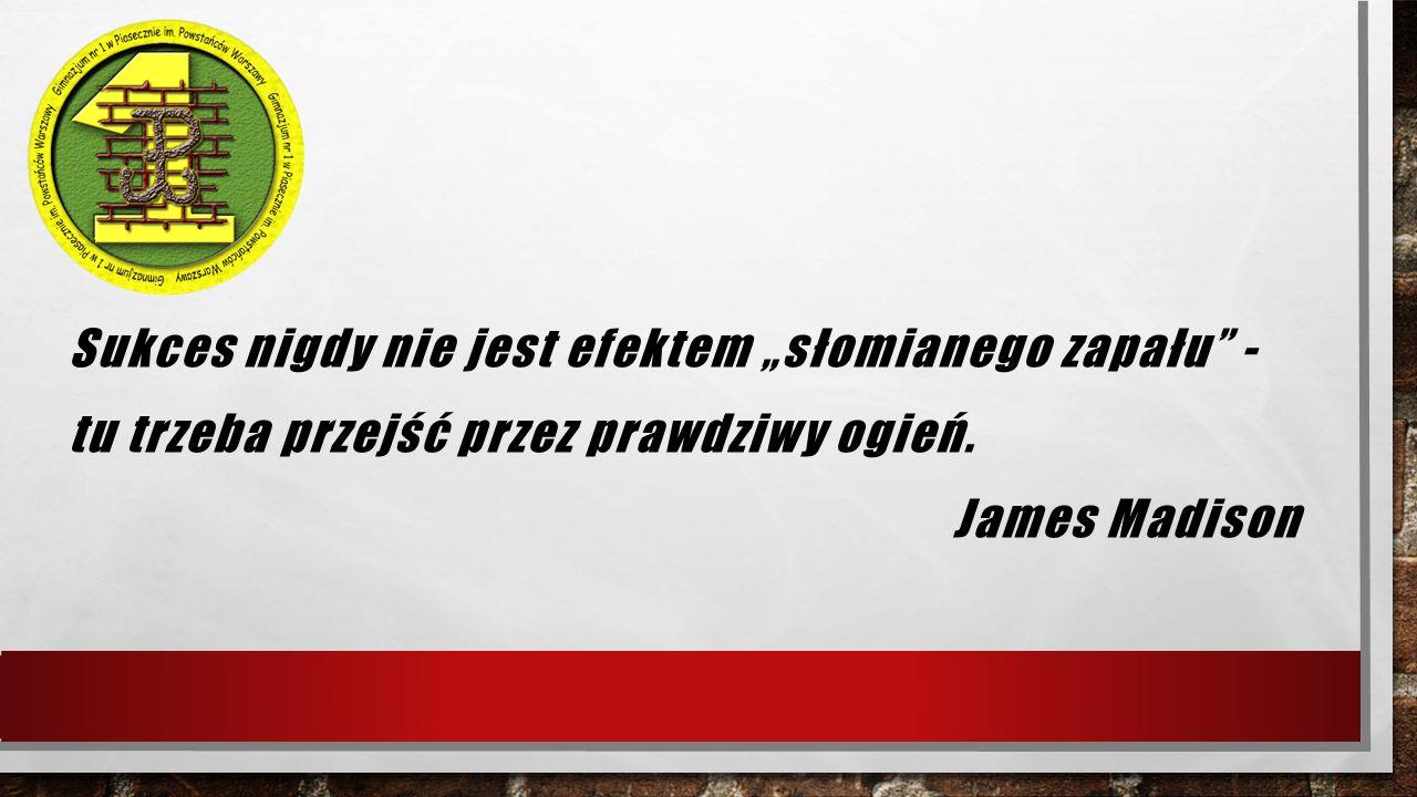 """Konkursy powiatowe Konkurs Techniczny """"Zastosowanie praw i zjawisk fizycznych w technice i życiu codziennym I Miejsce – Michał Cholewiński i Natalia Semczuk – 3 a Wyróżnienia: – Zuzanna Kłagisz – 3a i Gabriel Moszczyński – 3 e – Wojciech Filich – 2 f"""