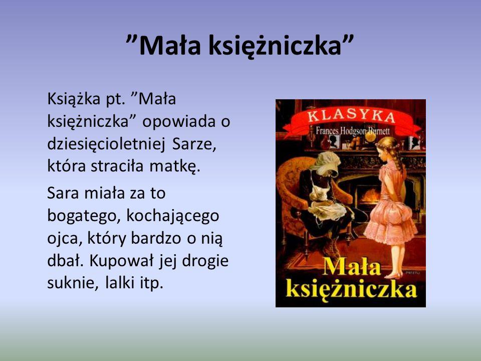 Mała księżniczka Książka pt.
