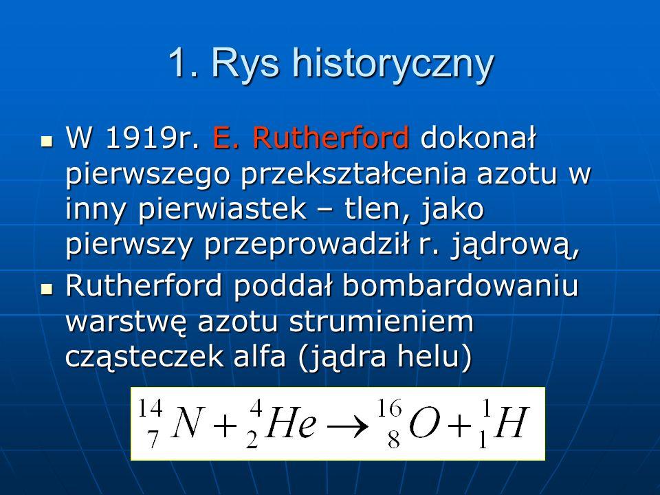 1. Rys historyczny W 1919r. E.