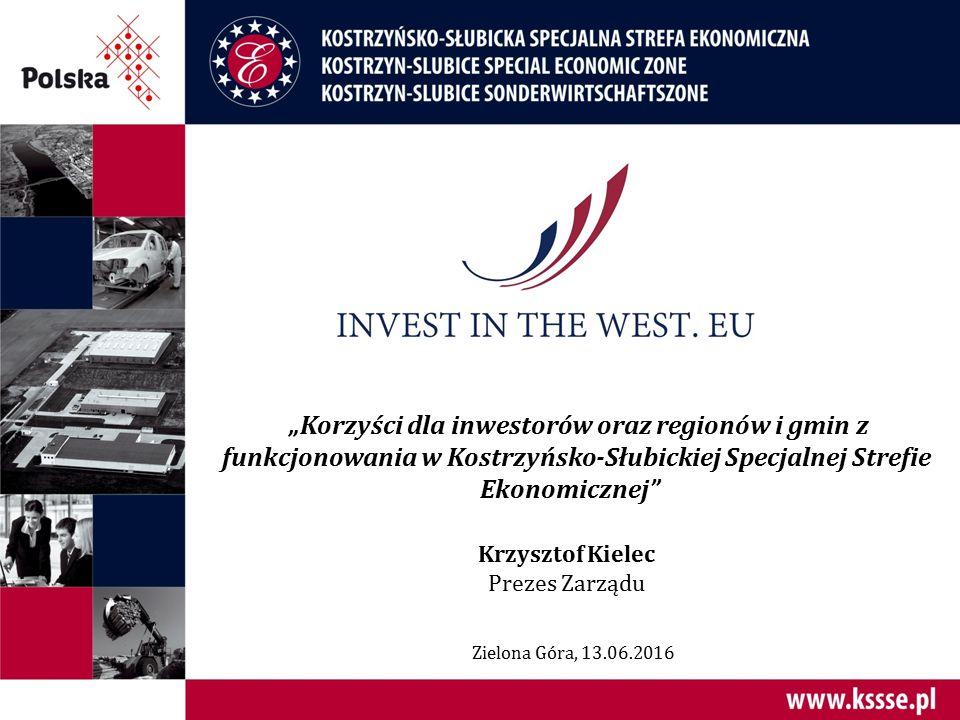 Jedna z najlepszych Stref w Polsce 4,41 ogólna ocena Strefy wg inwestorów Raport KPMG za 2014