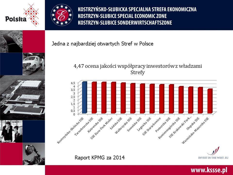 Jedna z najbardziej otwartych Stref w Polsce Raport KPMG za 2014