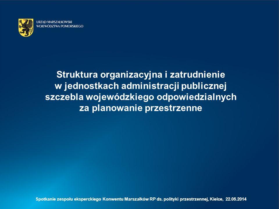 System instytucjonalny planowania przestrzennego w województwach lubuskim, małopolski, opolskim i śląskim na tle innych regionów jest najsłabszy, co wynika z ograniczonej kadry, w znacznym stopniu skupionej na bieżących zadaniach administracyjnych, a w niewielkim na pracach koncepcyjnych i planistycznych; Wydaje się (optyka Pomorska), że jednak model dualizmu (podział Biuro i Urząd) w zakresie planowania przestrzennego w województwie jest słabym rozwiązaniem, które dezintegruje system; Z uwagi na brak aparatu planistycznego na poziomie krajowym, brak monitoringu rozwoju przestrzennego na poziomie krajowym (poza planowanie lokalnym) oraz uwarunkowania KPZK, podstawowym zadaniem MIR powinno być włączenie/zaangażowanie samorządów województw (przede wszystkim biur planowania) w system skoordynowanych na poziomie centralnym prac planistycznych prowadzonych na potrzeby samego ministerstwa i innych agend rządowych (w tym udział Biur w PO PT 2014-2020); Na poziomie regionalnym powinno się dążyć do lepszego wykorzystania potencjału Biur, jako jednostek o charakterze eksperckim, na potrzeby np.