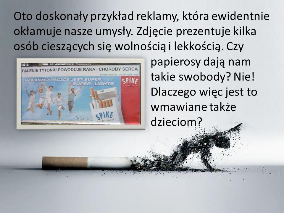 Oto doskonały przykład reklamy, która ewidentnie okłamuje nasze umysły.