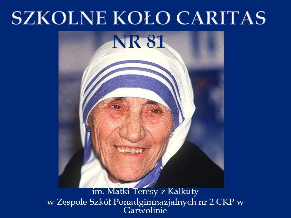 im. Matki Teresy z Kalkuty w Zespole Szkół Ponadgimnazjalnych nr 2 CKP w Garwolinie