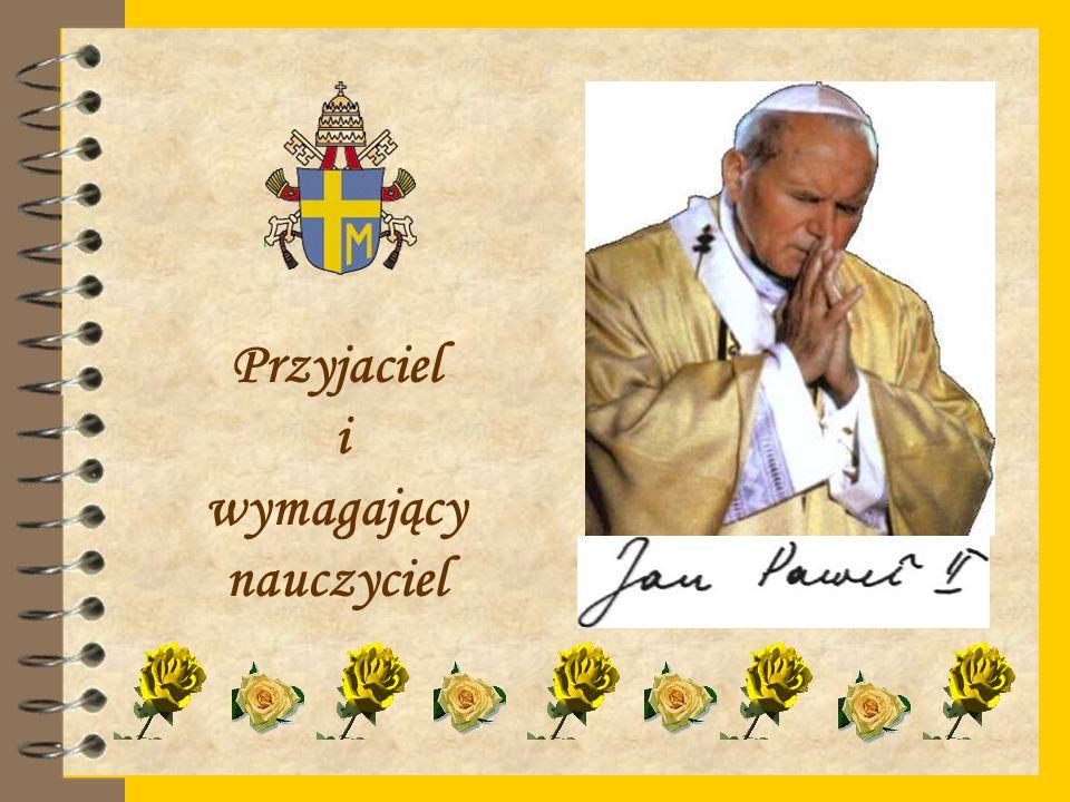 """Prezentacja przygotowana na podstawie """"Autobiografii Jana Pawła II pod kierunkiem Jolanty Dynerowicz"""