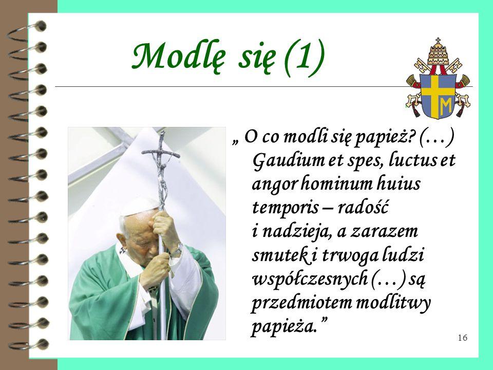 """15 Dostrzec brata (2) """"Potrzeba """"wyobraźni miłosierdzia"""", aby przyjść z pomocą dziecku zaniedbanemu duchowo czy materialnie; aby nie odwracać się od c"""