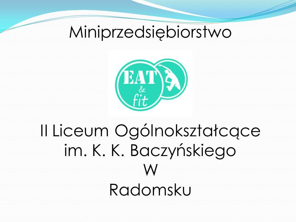 Miniprzedsiębiorstwo II Liceum Ogólnokształcące im. K. K. Baczyńskiego W Radomsku