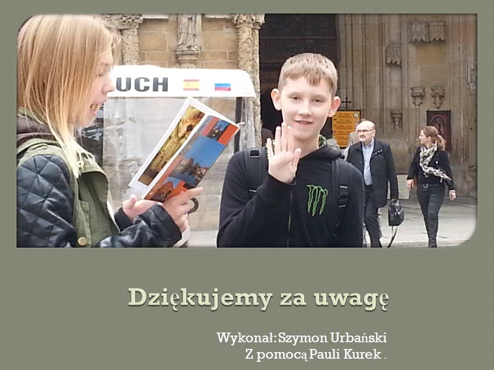 Wykona ł : Szymon Urba ń ski Z pomoc ą Pauli Kurek.