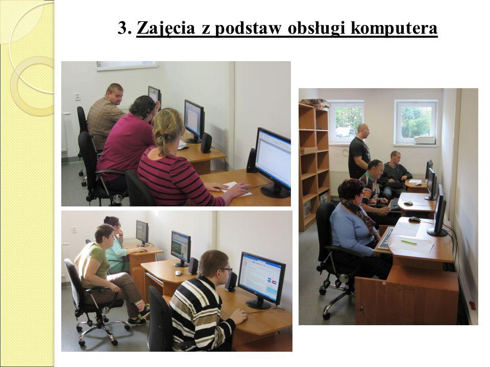 3. Zajęcia z podstaw obsługi komputera