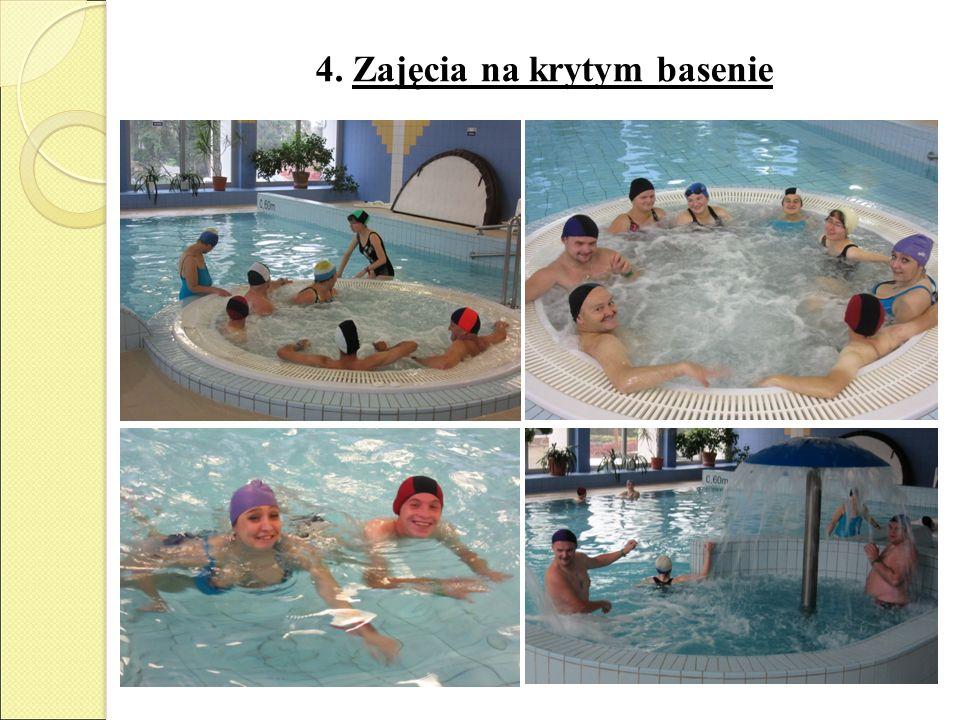 4. Zajęcia na krytym basenie