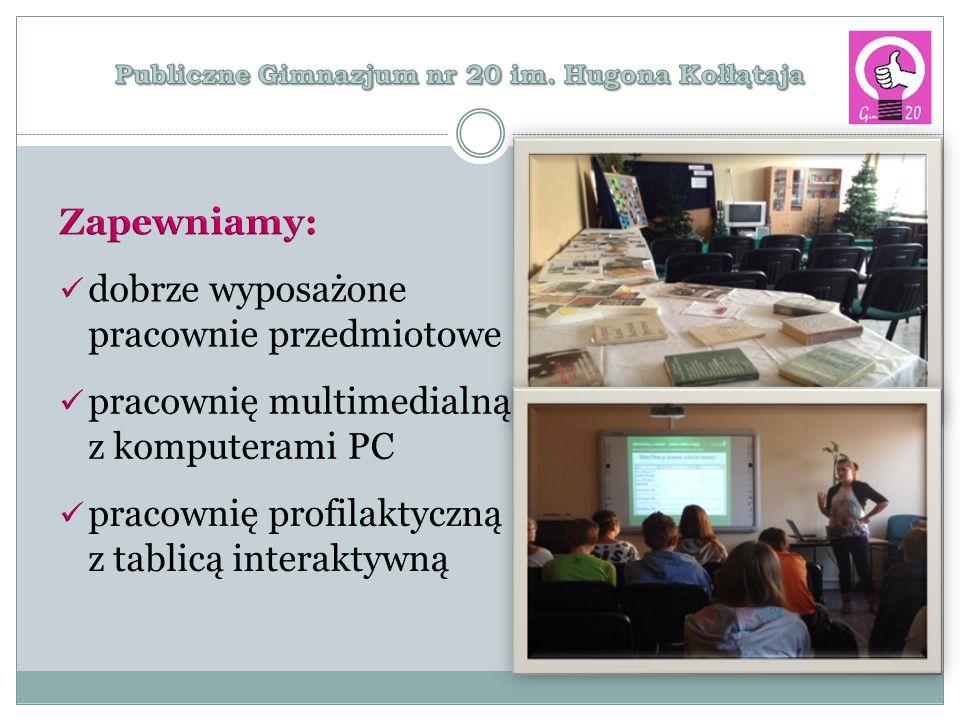 Projekty edukacyjne realizowane w szkole: Posiadamy certyfikat potwierdzający zorganizowanie wzorcowego wewnątrzszkolnego systemu orientacji i poradnictwa zawodowego nadany przez ŁCDNiKP w Łodzi.