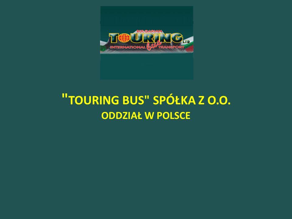 TOURING BUS SPÓŁKA Z O.O. ODDZIAŁ W POLSCE