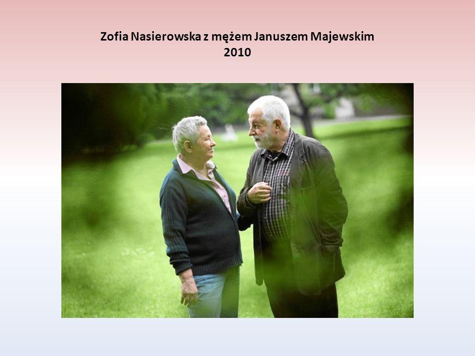 Zofia Nasierowska z mężem Januszem Majewskim 2010